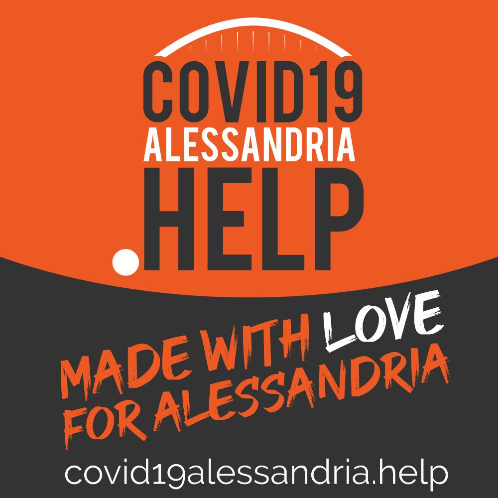 Banner quadrato covid19alessandria.help